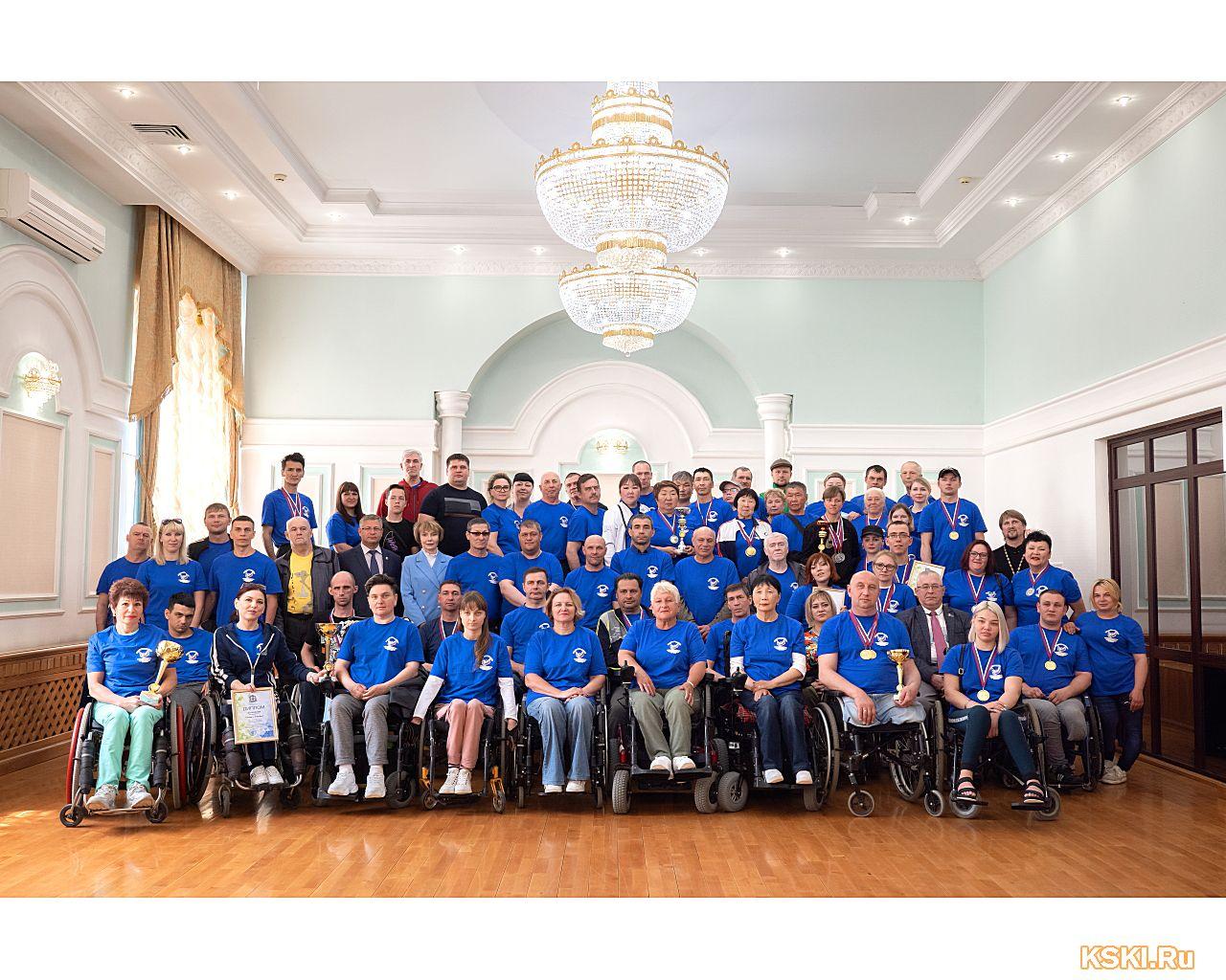 ХХVI физкультурно-спортивно фестиваль среди инвалидов с нарушением функций опорно-двигательного аппарата
